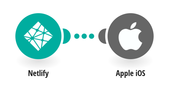 Send Apple push notifications from Netlify site deploys