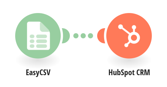 Create HubSpot CRM contacts from EasyCSV