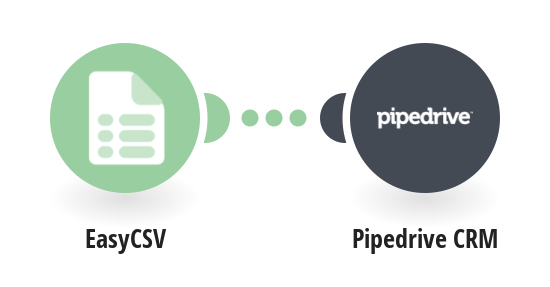Create Pipedrive CRM deals from EasyCSV