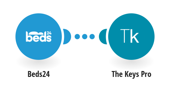 Create a The Keys Pro shared digicode for new Beds24 bookings