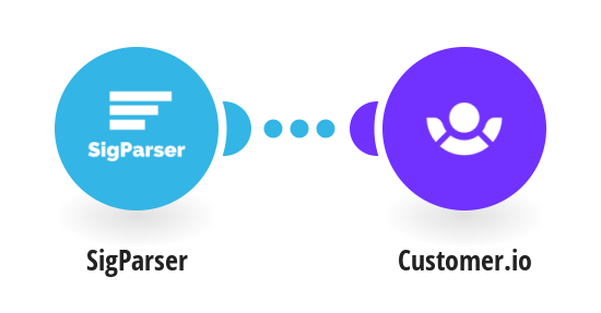 Turn emails into Customer.io contacts with SigParser
