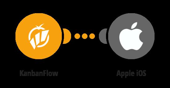 Send iOS push notifications for new KanbanFlow tasks