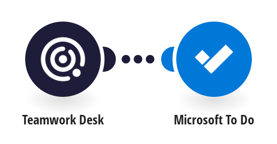 Create Microsoft To Do tasks from Teamwork Desk tickets