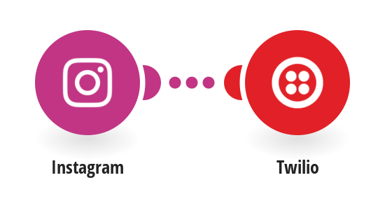 Send Twilio SMS messages for new Instagram photos