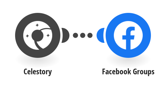 Create posts in Facebook Groups from new Celestory messages