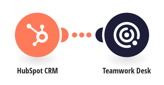 Create Teamwork Desk customers from HubSpot CRM contacts