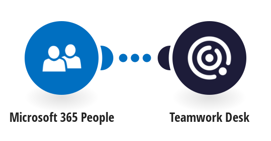 Create Teamwork Desk customers from Microsoft 365 People contacts