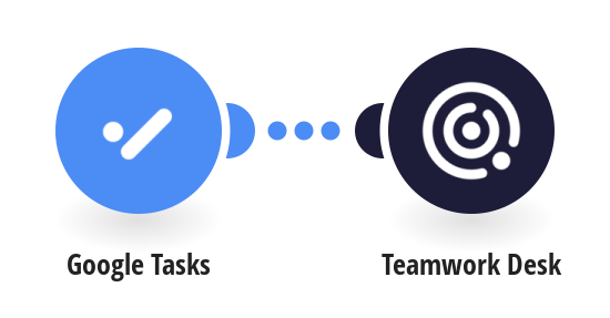 Create Teamwork Desk tickets form Google Tasks