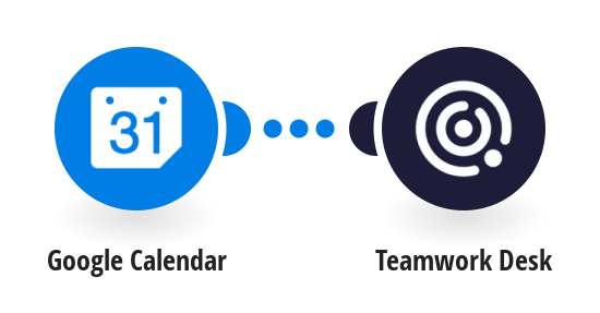 Create Teamwork Desk tickets from Google Calendar events
