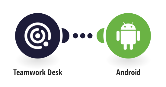Send push notifications to an Android device when a new ticket is created on Tweamwork Desk