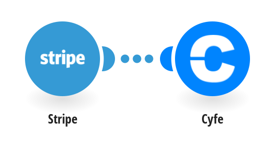 Track new Stripe payments in a Cyfe chart