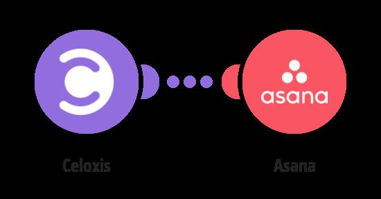 Create Asana tasks from new Celoxis tasks