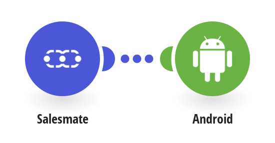 Send Android push notifications for new Salesmate CRM deals