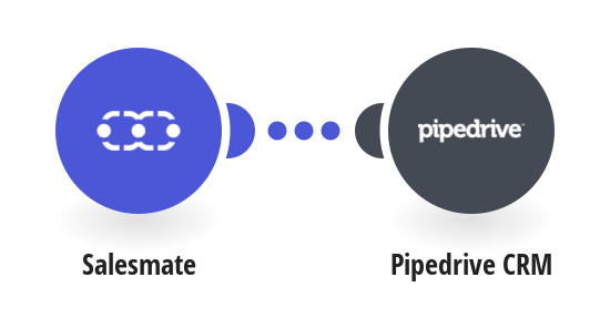 Add new Salesmate companies to Pipedrive CRM