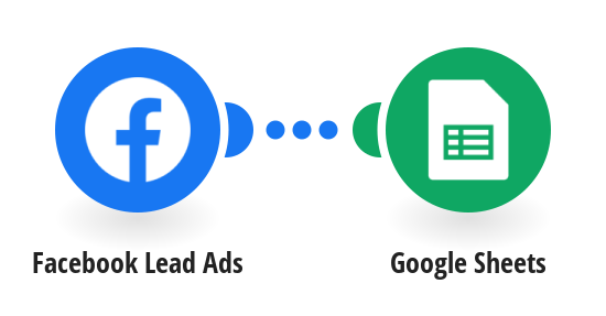 Save new Facebook Lead Ads leads into Google Sheets