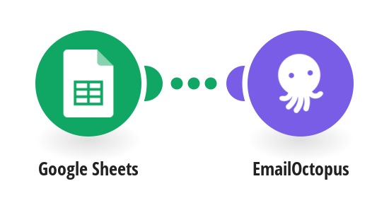 Create new EmailOctopus contacts from Google Sheets