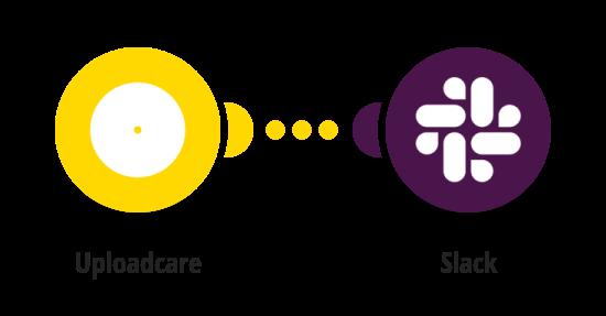 Send Slack messages for new Uploadcare uploads