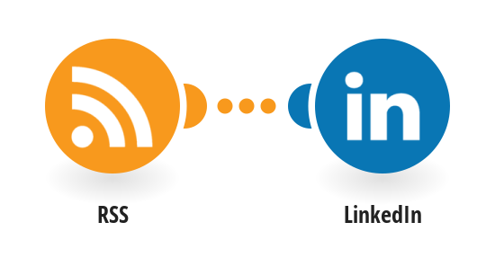 Post new RSS feeds updates to LinkedIn