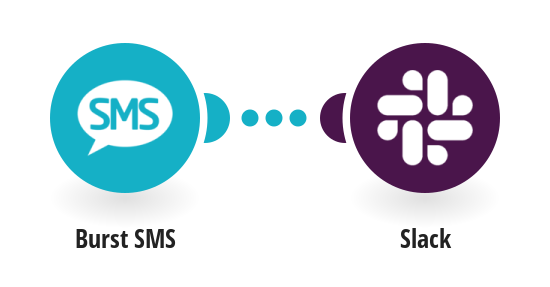 Send Slack messages from new Burst SMS replies