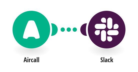 Send Slack messages from new Aircall calls