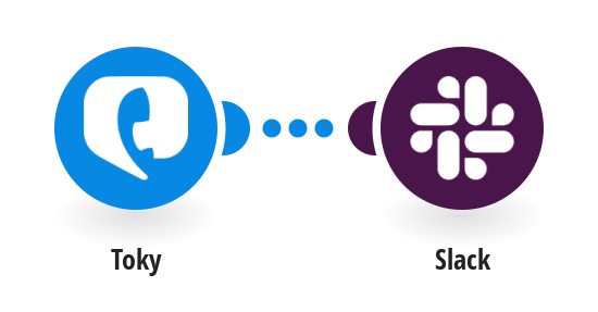 Send Slack messages from new Toky calls