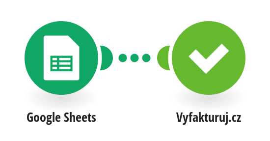 Create an invoice in Vyfakturuj.cz from a new row in Google Sheets