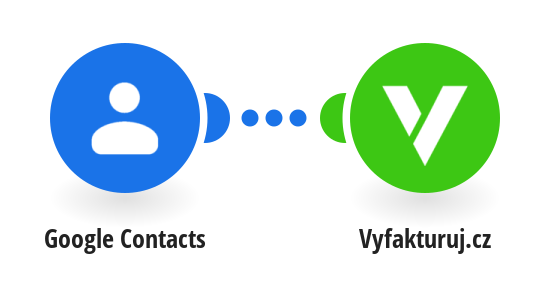 Create a new contact in Vyfakturuj.cz from a Google Contact