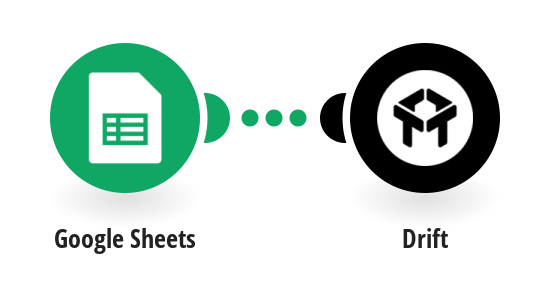 Create a new contact in Drift from new contacts in Google Sheets spreadsheet