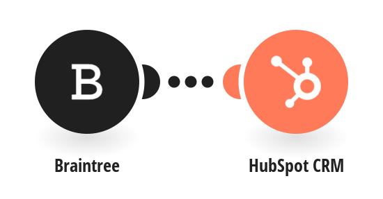 Create a new contact from Braintree in HubSpot CRM