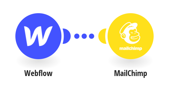 Add new subscriber from Webflow to MailChimp