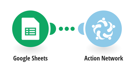 Create a new person from Google Sheets in Action Network