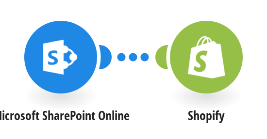 Create a new Shopify product from a new Microsoft SharePoint Online item