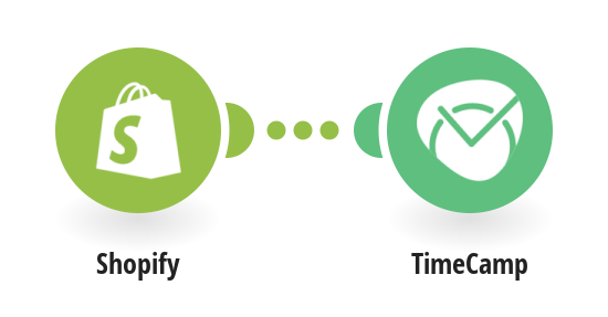 Create new TimeCamp task from new Shopify orders