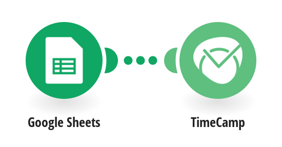Add new Google Sheets rows as TimeCamp tasks