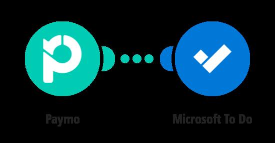Create Microsoft To Do tasks from Paymo tasks