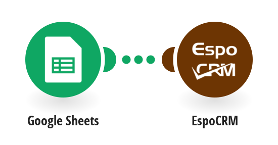 Import contacts to EspoCRM from Google Sheets