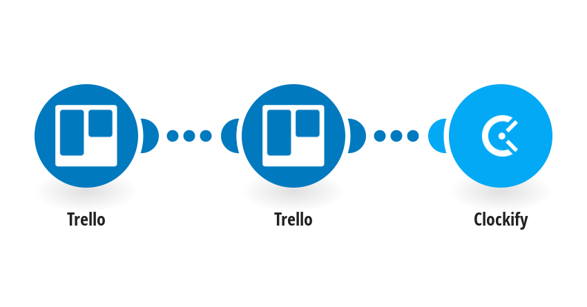 Run a Clockify time entry when a Trello Card is moved