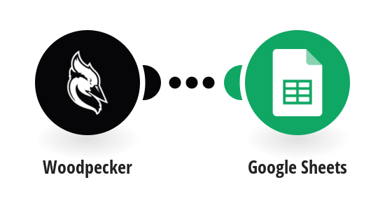 Add Google Sheets rows for prospects that reply in Woodpecker