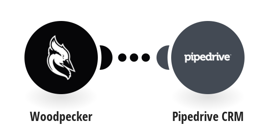 Create deals in Pipedrive CRM from Woodpecker replied contacts