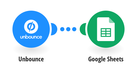 Add Google Sheets rows from Unbounce form submissions