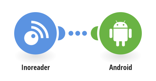 Send Android push notifications for new Inoreader articles