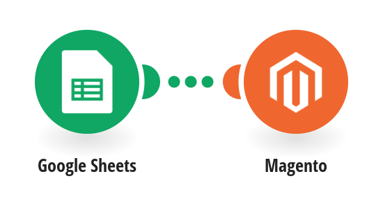 Create new products in Magento from new rows in a Google Sheets spreadsheet