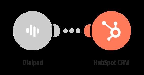 Create a HubSpot contact for each Dialpad inbound call