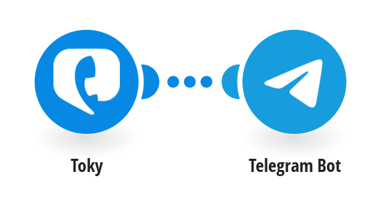 Create Telegram Bot messages for new Toky calls