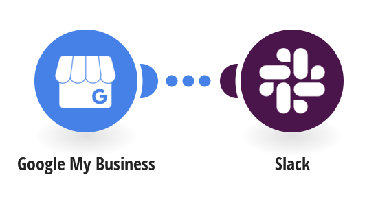 Create Slack messages from new Google My Business reviews