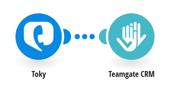 Register calls in Teamgate CRM from new Toky calls