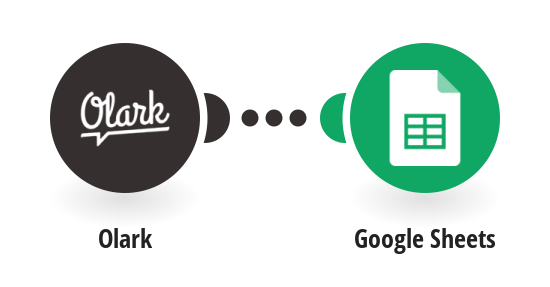 Keep track of every Olark visitor in Google Sheets