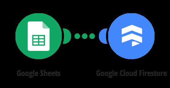 Export Google Sheets data to Firestore