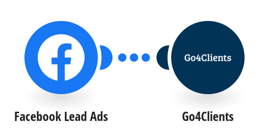 Send a Go4Clients DRIP (combination of CALL + SMS + EMAIL) to a lead created in Facebook Lead Ads