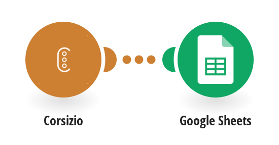 Export your Corsizio events to Google Sheets